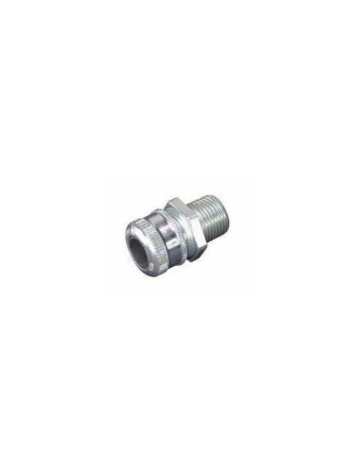 Crouse-Hinds Series CGB294 3/4 Inch Male Threaded Steel Straight Non-Armored Cable Gland