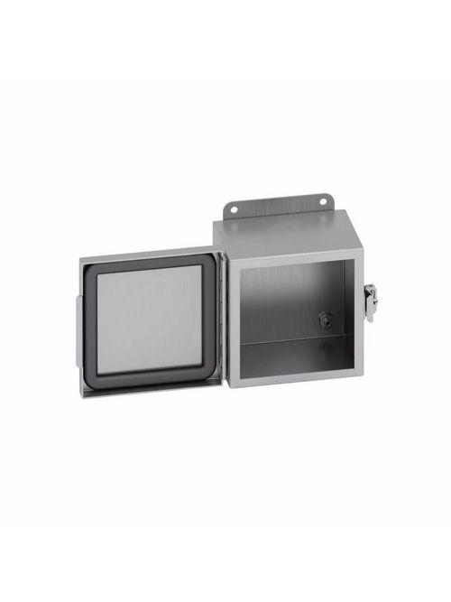 B-Line Series 1084-4XACHC Type 4X Aluminum Continuous Hinge Cover Enclosure
