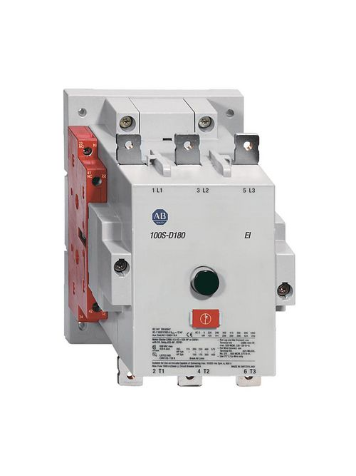 Allen Bradley 100S-D115EN22C 115 Amp MCS D Safety Contactor