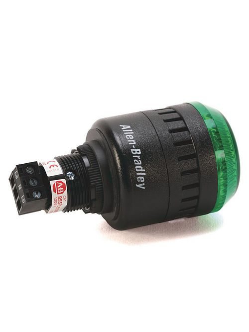Allen-Bradley 855PC-B12LE522 Light and Sounder Combination Alarm Light