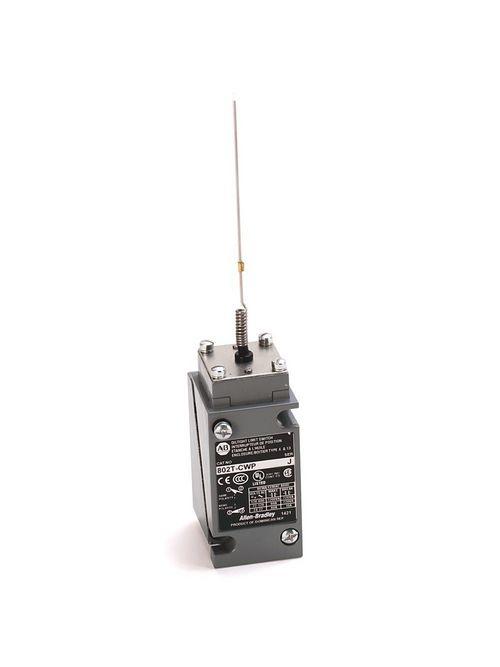 Allen-Bradley 802T-CWP1 NEMA Type 4/13 Oiltight Construction Plug-In Cat Whisker Wire 2 Circuit Head Only Limit Switch