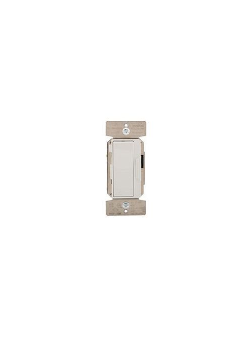 Eaton Wiring Devices DF10P-C2 1200 W 120 VAC 1-Pole 3-Way Light Almond/Ivory/White LED/CFL Decorator Dimmer