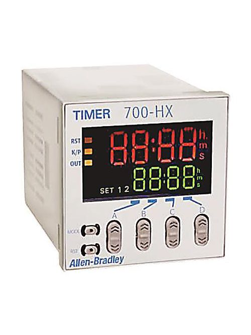 Allen-Bradley 700-HX86SU24 AC/DC Display Digital Timing Relay