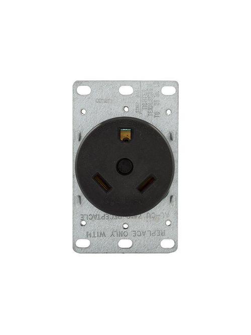 EWD 1263-BOX Recp Single Flush 30A