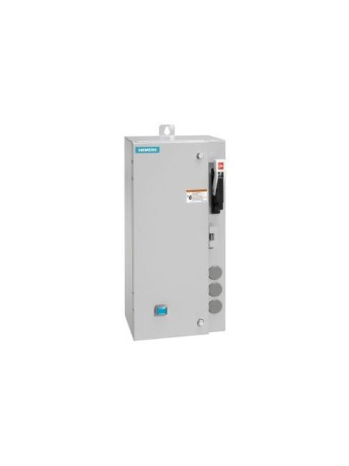 Siemens Industry 17CUB92BF11 120 VAC 0.75 to 3.4 Amp 2 Hp 3-Phase 3-Pole NEMA 1 Non-Reversing Combination Starter