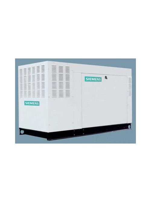Siemens Industry SGN045RBS 120/240 VAC 45 kW 1-Phase 3600 RPM Steel Natural/Liquid Propane Standby Liquid Cooled Generator