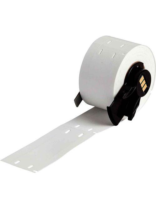 Brady PTL-12-109 100/Pack 0.75 x 3 Inch White Polyethylene Portable Printer Label