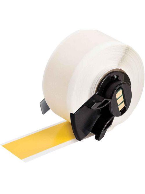 Brady PTL-8-439-YL 0.5 Inch x 50 Foot Yellow Vinyl Portable Printer Label