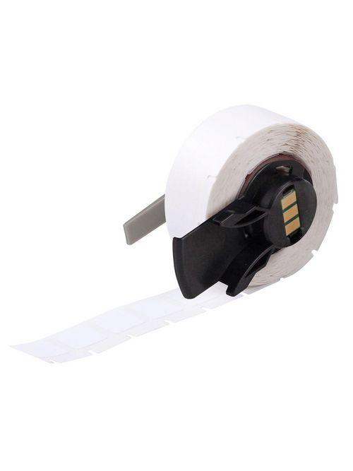 Brady PTL-7-422 0.5 x 0.5 Inch White Polyester Portable Printer Label