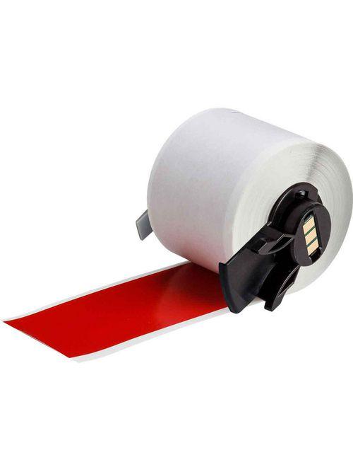 Brady PTL-43-439-RD 50 Foot Roll 1.9 Inch x 50 Foot Red Vinyl Portable Printer Label