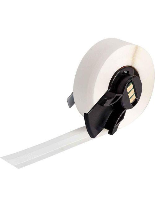 Brady PTLTB-498-318 0.318 Inch x 30 Foot White Vinyl Portable Printer Label