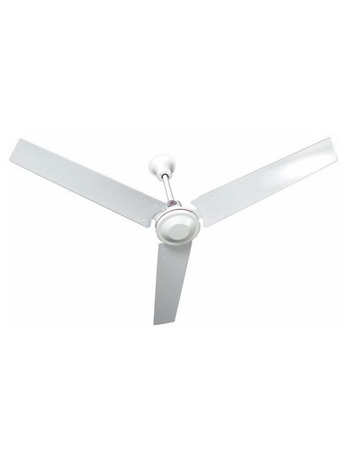 TPI Corporation IHR48 48 Inch 120 Volt 0.53 Amp 17100 CFM 320 RPM Down Draft Industrial Ceiling Fan