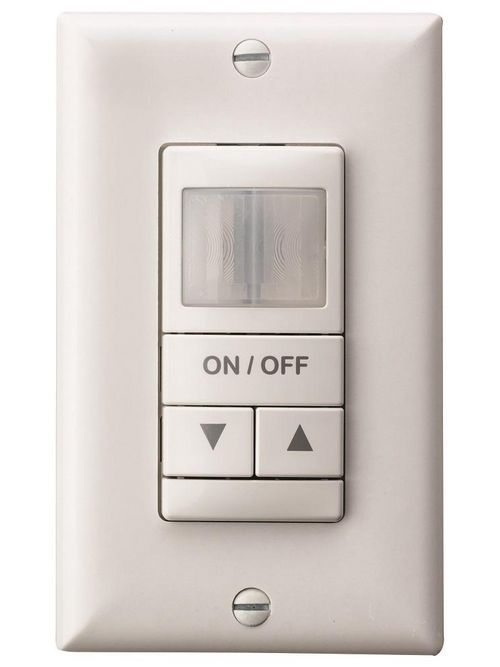 Sensory Switch WSX PDT EZ D WH 120/277 VAC 1/4 Hp White 1-Gang Wall Switch Occupancy Sensor