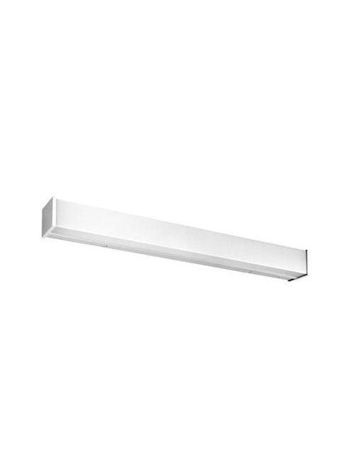 Lithonia Lighting WC 2 17 MVOLT GEB10IS 2-Lamp 17 W 120 to 277 Volt T8 Matte White Opal Acrylic All Purpose Wall Bracket