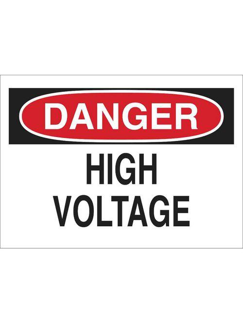 Brady 25533 Electrical Hazard Sign
