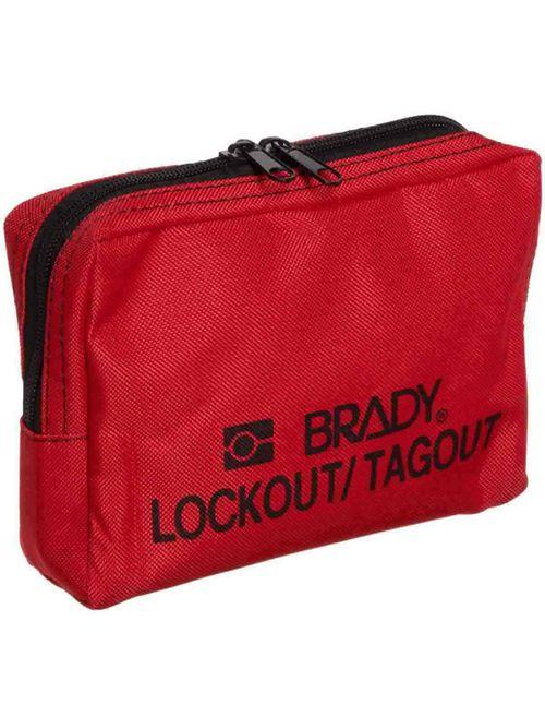 BRADY 51172 LOCKOUT BELT POUCH, RED