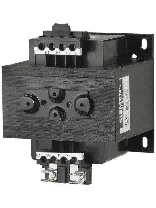 Siemens Industry MT0350A 350 VA 240 x 480 VAC Primary 110/115/120 VAC Secondary Industrial Control Transformer