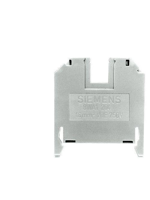 Siemens Industry 8WA1204 Size 16 Beige Thermoplastic Through-Type Screw Terminal Block