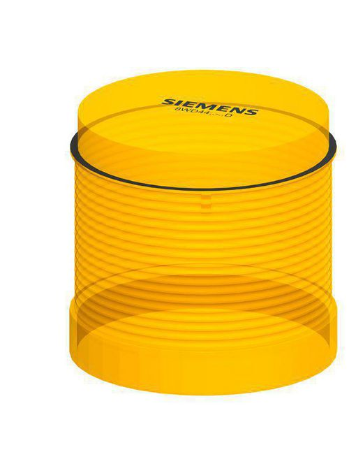 Siemens Industry 8WD4400-1AD 70 mm 12 to 240 VAC 240 VDC Yellow Thermoplastic Incandescent/LED Light Element