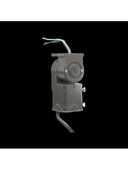Atlas Lighting 280-016-1 2-3/8 Inch Bronze Die-Cast Light Fixture Slipfitter with Cord