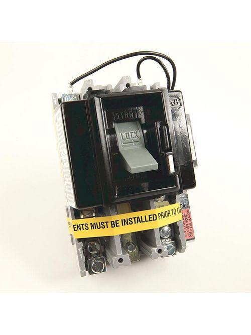 Allen-Bradley 609TU-AOXD NEMA Size 0 Manual Motor Starter