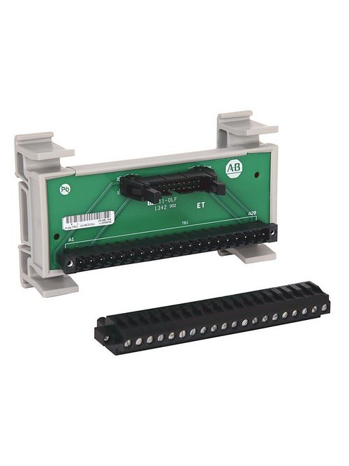 Allen-Bradley 1492-RIFM20F-F24A-2 20-Pin Cable Header Digital Interface Module with Field Removable Terminal Block