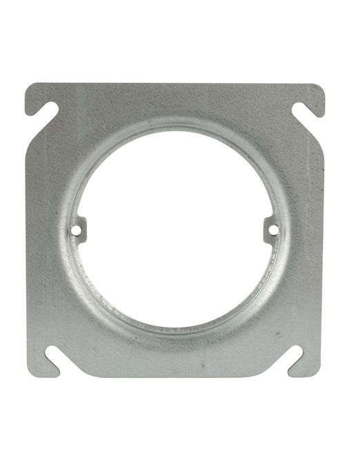 Steel City 401-CS 4 Inch Length 1/4 Inch Raise Square Ring and Cover