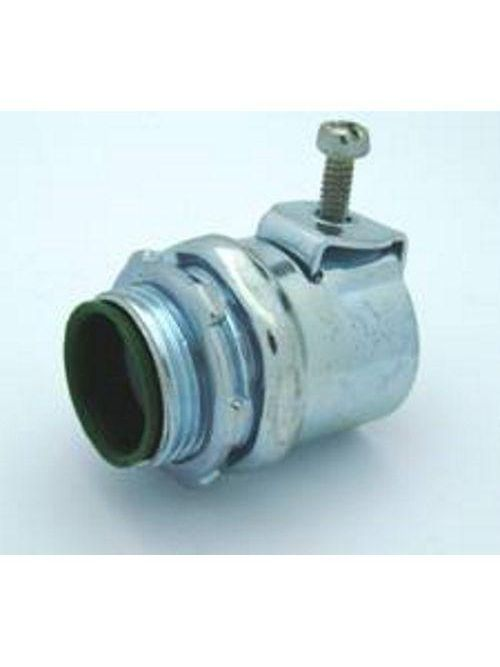 Bridgeport 571-SI 1/2 Inch MC/FMC Insulated Connector