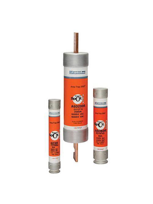 Ferraz Shawmut A6D6-1/4R 6-1/4 Amp 600 Volt Class RK1 Time Delay Fuse