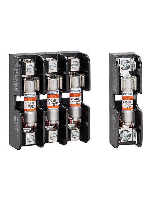 Ferraz Shawmut 30312 2-Pole 30 Amp 600 Volt Midget Fuse Block