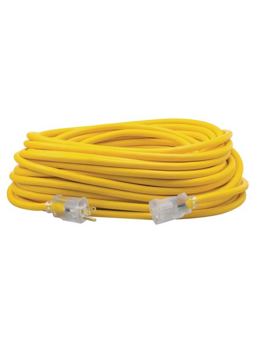 Coleman 01689-00-02 12 AWG 3-Conductor SJEOW Extension Cord