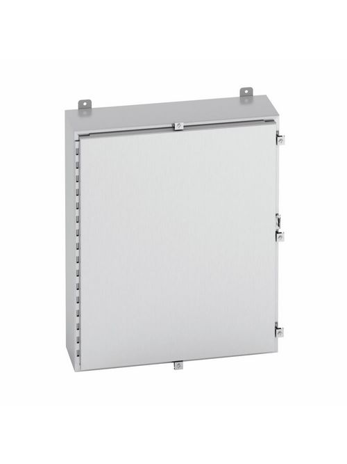 B-Line Series 24248-4XSS6 24 x 24 x 8 Inch Type 4X Stainless Steel Single Door Enclosure