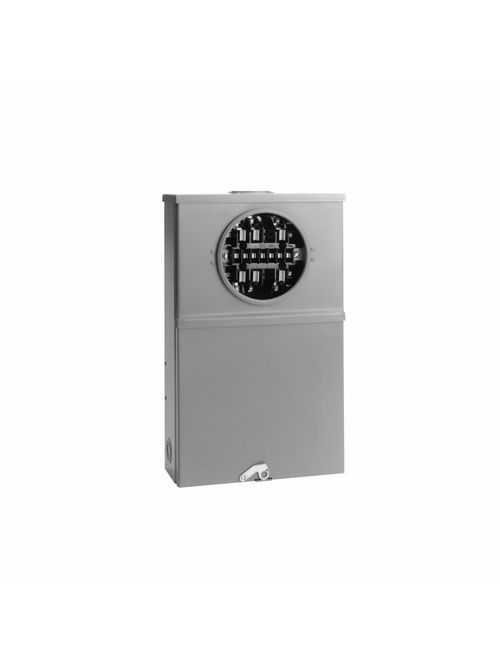 B-Line Series 121413 600 Volt 20 Amp 3-Phase 13-Jaw CT Rated Single Meter Socket