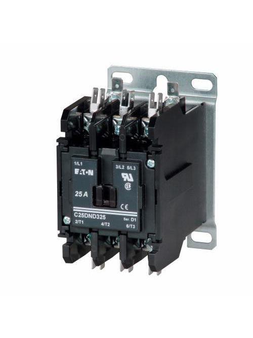 Eaton C25DND225A Definite Purpose Control Contactor