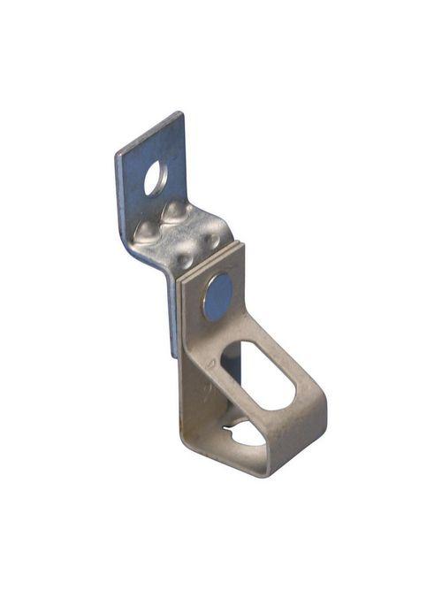 Caddy 4TIO 1/4 Inch Pre-Galvanized Steel Threaded Rod Hanger with Offset Bracket