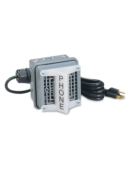 Federal Signal TELC-120 100 dB 120 VAC 0.24 Amp Die-Cast Zinc Housing Telephone Extension Ringer Device