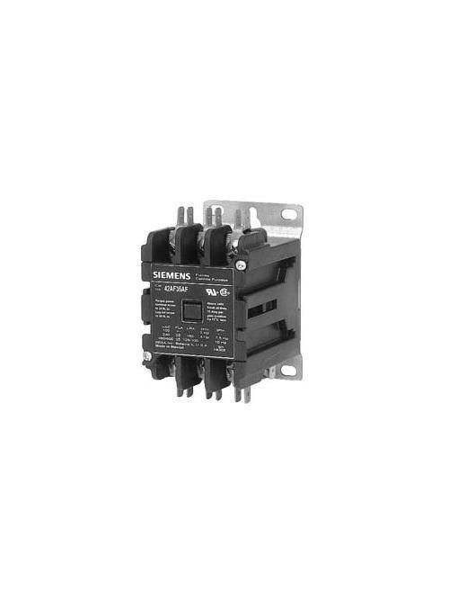 Siemens Industry 42CF35AF 3-Pole 600 VAC 120 VAC Coil 240 Amp 15 Hp Open Type Definite Purpose Contactor