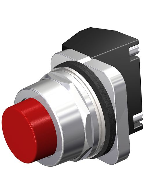 S-A 52PA8B2A PUSHBUTTON,MOM,RED,EXT