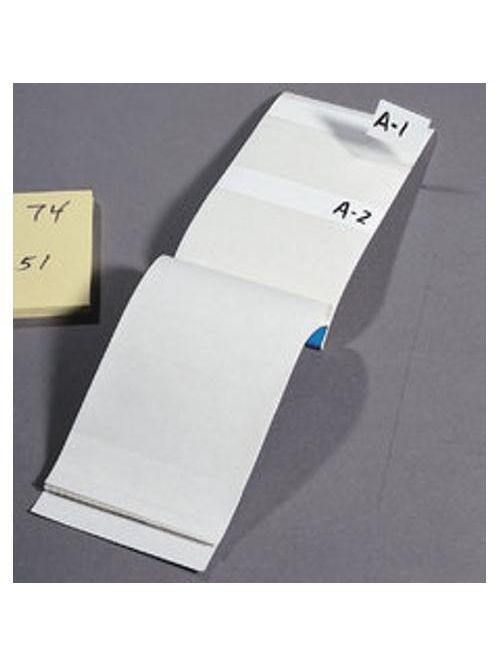 Ideal Industries 44-152 5 x 1 Inch Clear Vinyl Blank Write-On Legend Wire Marker Booklet