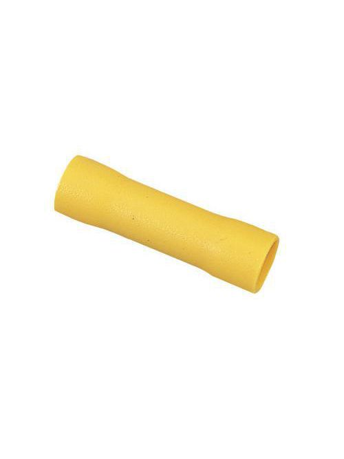 Ideal Industries 84-9301 600 Volt 12 to 10 AWG Yellow Tinned Brass Vinyl Insulated Butt Splice