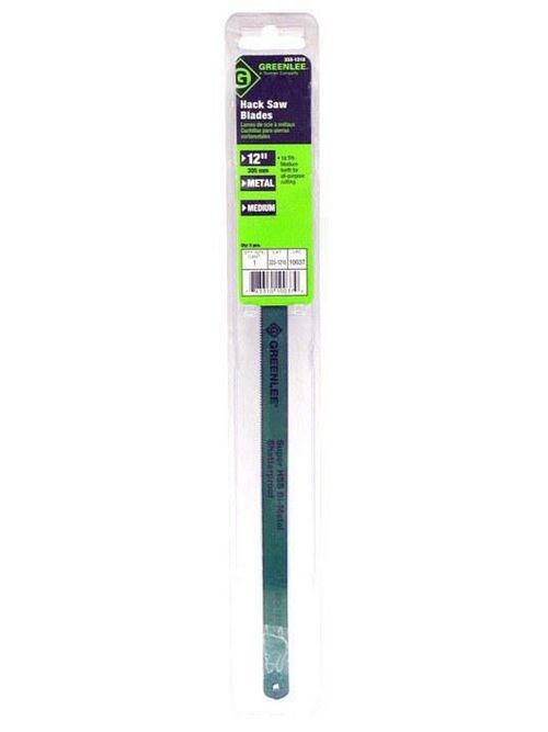 Greenlee 333-1218 12 Inch 18 TPI Bi-Metal Fully Adjustable Hacksaw Blade