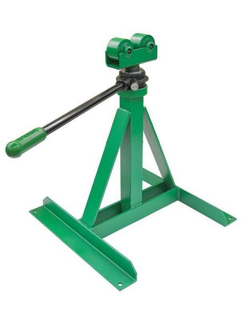 Greenlee 656 28 to 46-5/8 Inch 3750 lb Ratchet Reel Stand