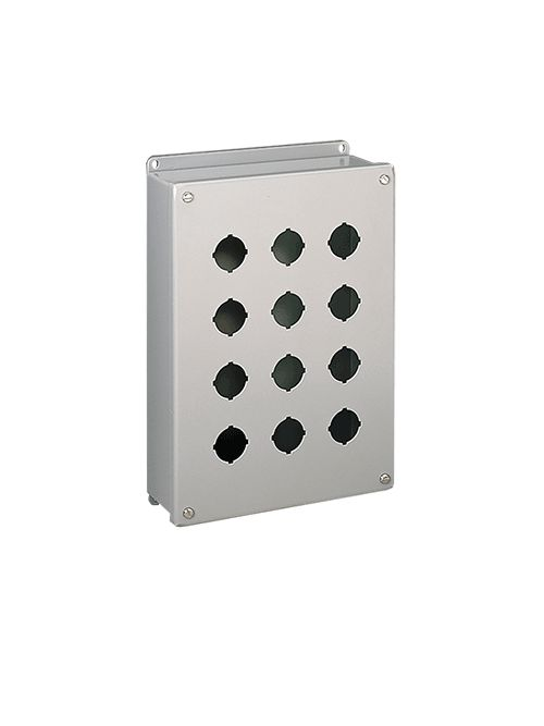 Hoffman E3PBSS 8 x 3.25 x 2.75 Inch 304 Stainless Steel NEMA 4X Push Button Enclosure