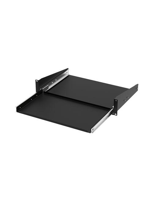 Hoffman P19KBSM 3.5 x 18.31 x 12.42 Inch Steel 2-Unit Pull Out Shelf