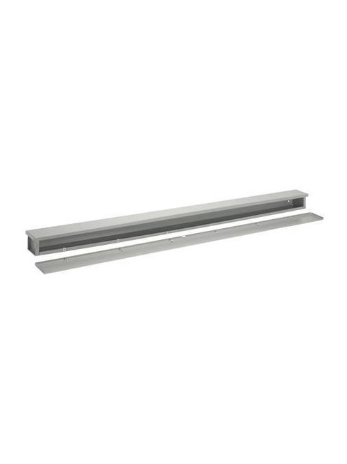 Hoffman A141472RT 14 x 14 x 72 Inch NEMA 3R 14 Gauge Plated Steel Wire Trough