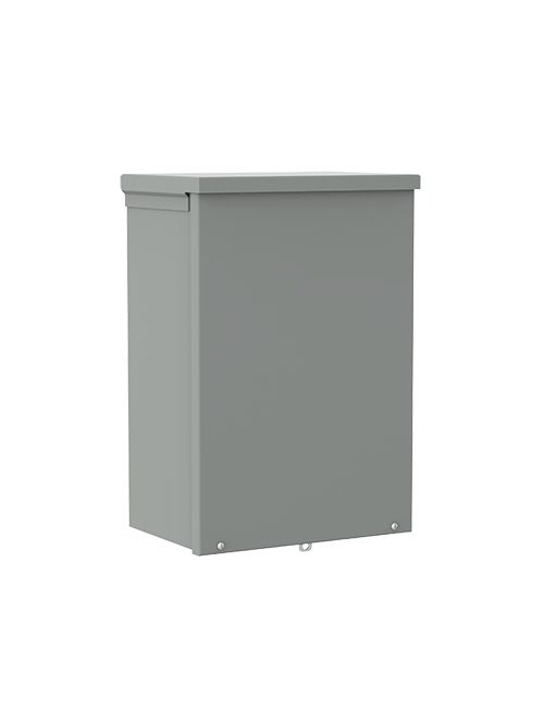 Hoffman A8R84 8 x 8 x 4 Inch Galvanized Steel NEMA 3R Screw Cover Enclosure