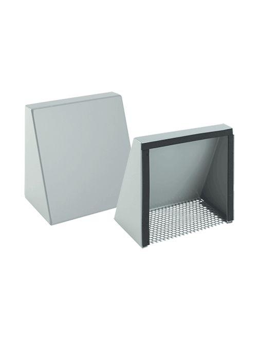 Hoffman T10S3R 12 x 12 Inch NEMA 3R Gray Steel Cooling Fan Shroud Kit