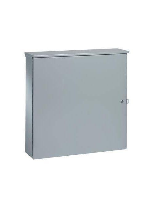Hoffman ATC36R369 36 x 36 x 9 Inch Galvanized Steel NEMA 3R 1-Door Telephone Cabinet
