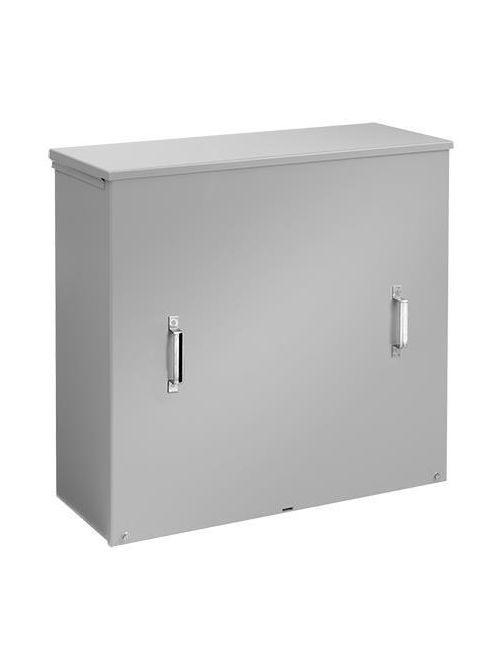 Hoffman A484814CTCJ 46.81 x 48 x 14 Inch Steel NEMA 3R Screw Cover Current Transformer Cabinet