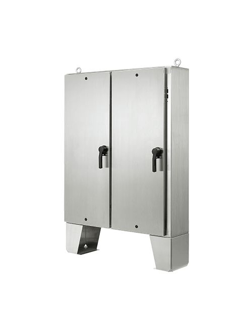 Hoffman A72HX6118SSLPQT Type 4X 2-Door Stainless Steel Disconnect Enclosure